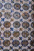 Old ceramic tiles — Stock Photo