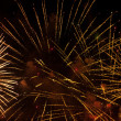 Beautiful fireworks — Stock Photo #31996239