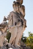 在公园的克鲁斯古董雕像 — 图库照片