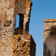 The ruins of old portuguese city Montemor — Stock Photo