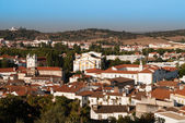 Looking over typical houses in Montemor — Stock Photo