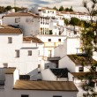 Setenil de las Bodegas is one of the pueblos blancos (white vill — Stock Photo #34219721