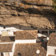 Setenil de las Bodegas is one of the pueblos blancos (white vill — Stock Photo #34219751