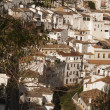 Setenil de las Bodegas is one of the pueblos blancos (white vill — Stock Photo #34219761
