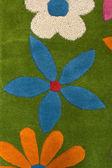 Dětský koberec — Stock fotografie