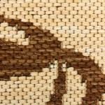 Beautiful mat of machine work — Stock Photo #44776327