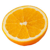 Orange isolated on white background — Stock Photo