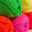 Wool threads close up — Stock Photo #28692645
