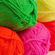 Stock Photo: Wool threads close up