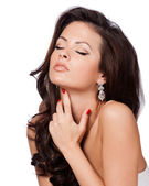 Beauty Woman with Perfect Makeup — Stock Photo