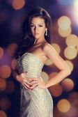 Bellezza brunetta — Foto Stock