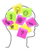 Memory concept — Stock Vector
