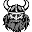 Stock Vector: Ancient viking