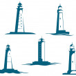 Lighthouse towers — Stock Vector