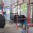 Passenger compartment — Stock Photo