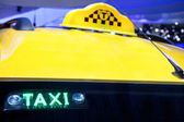 The taxi — Stock Photo