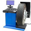Tyre fitting machine — Stock Photo