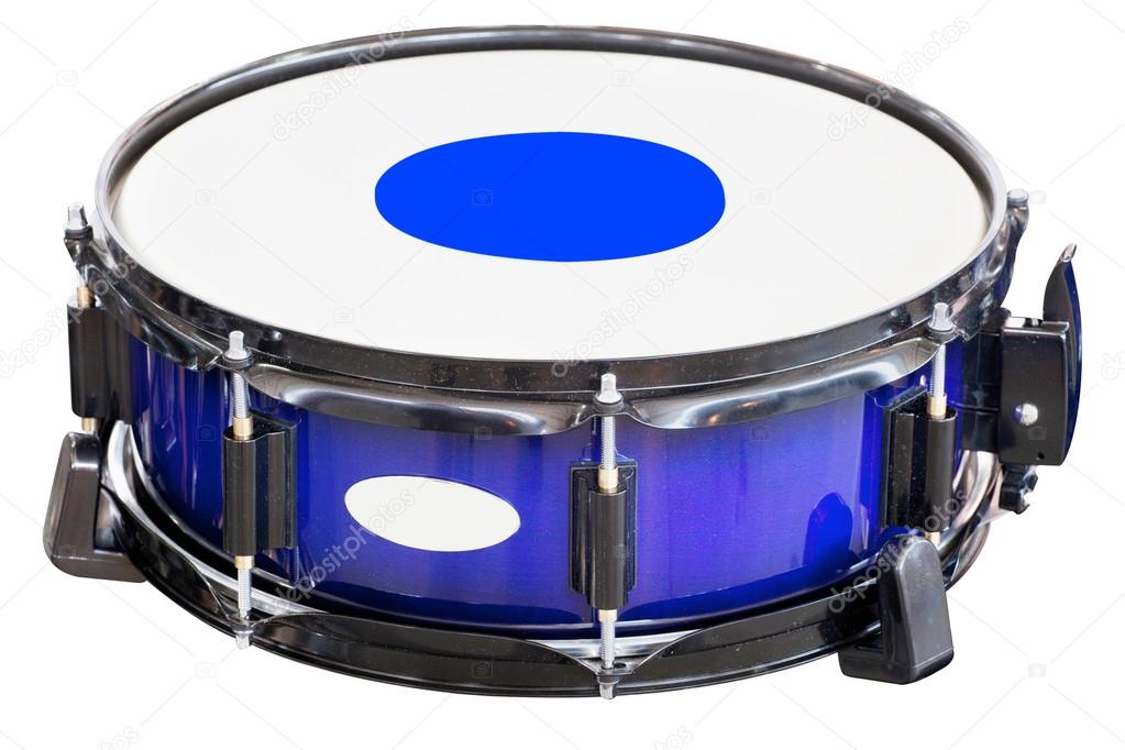 The image of a drum under a white background — Stock Photo #13405005
