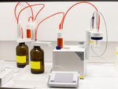 Chemical lab equipment — Stock Photo