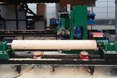 Fabryka drewna — Zdjęcie stockowe