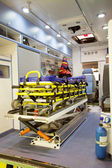 Lege ambulance auto — Stockfoto