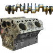 Stock Photo: Camshaft and cylinder block