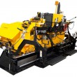Asphalt spreading machine — Foto Stock