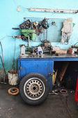 自動車修理工場 — ストック写真
