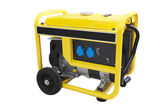 Gasoline generator — Stock Photo