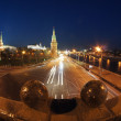 Traffic near Moscow Kremlin — Stock Photo