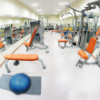Stock Photo: Gym hall