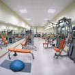 Gym hall — Stock fotografie #24623557