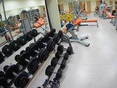 Gym hall — Stock Photo