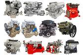 Motors isolated under the white background — Stock Photo