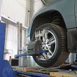 A car repair garage — Stockfoto