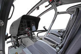 Helicopter cockpit — Foto de Stock