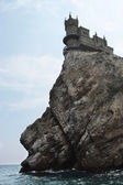 The Swallow's Nest castle — Stok fotoğraf
