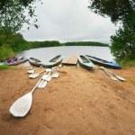 Canoes — Stock Photo #30900345