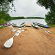 Canoes — Stock Photo #30900345