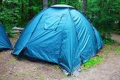 Tourist camp — Stockfoto
