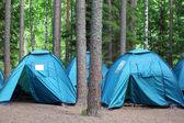 Toeristische camp — Stockfoto