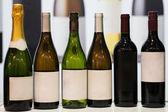 Wine bottles — Stock fotografie