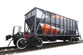 Goods wagon — Foto Stock