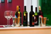 Wijnflessen — Stockfoto