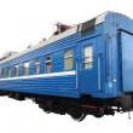 Passenger train car — Stock Photo #33202433