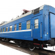 Passenger train car — Stockfoto