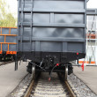 Goods wagon — Stock Photo