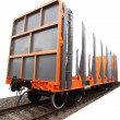 Stock Photo: Goods wagon