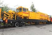 Railway renewal train — Stock Photo