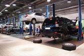 Garage de réparation — Photo